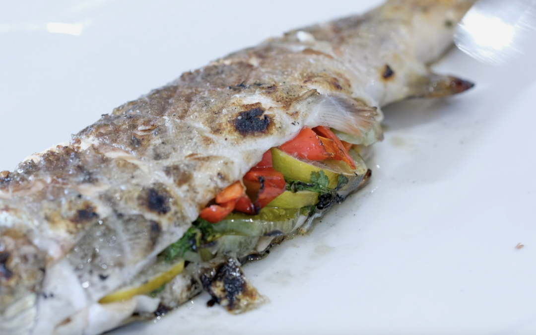 Rainbow Trout Grilled To Perfection