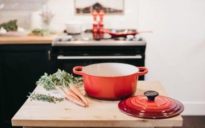 One-Pot Rainbow Trout Corn Chowder