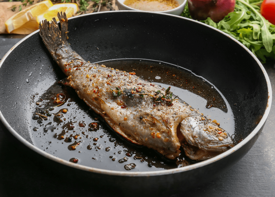 Crispy Pan-Seared Trout Recipe