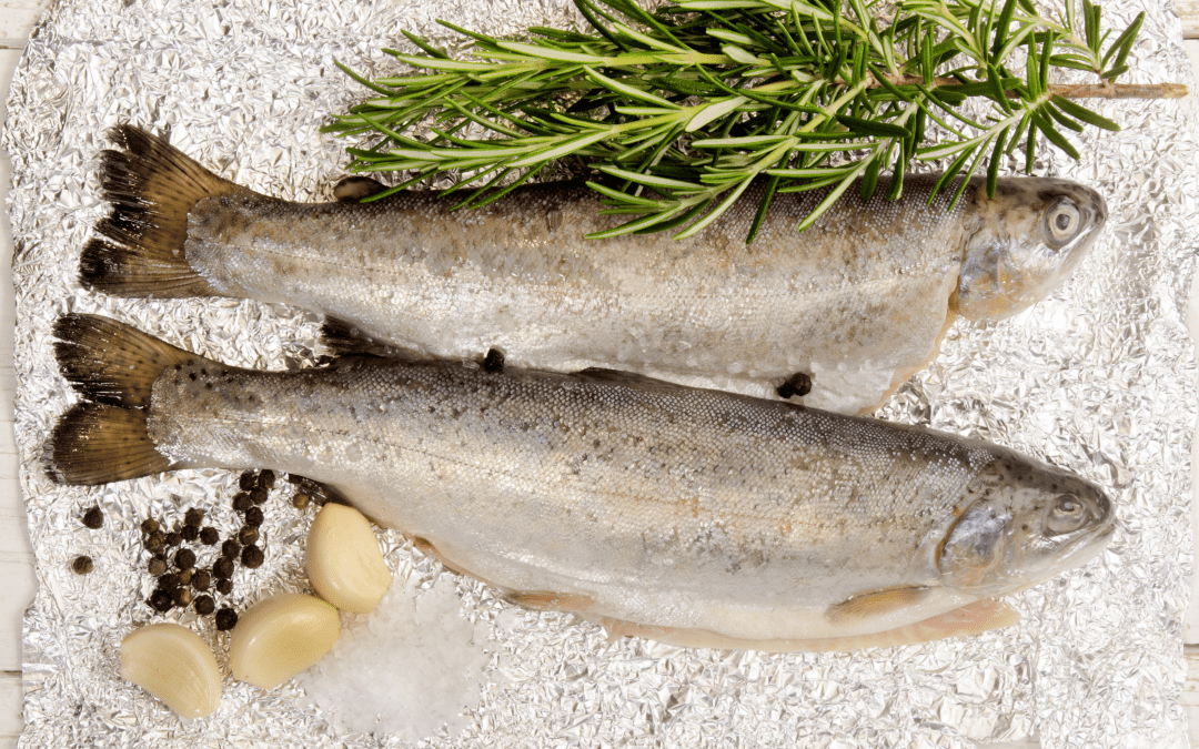 Appetizing Garlic Butter Rainbow Trout